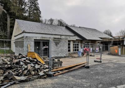 Construction d'un bâtiment des associations